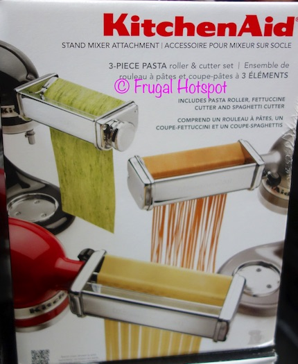 Costco Sale Kitchenaid 3 Pc Stand Mixer Attachments 49 99 Frugal