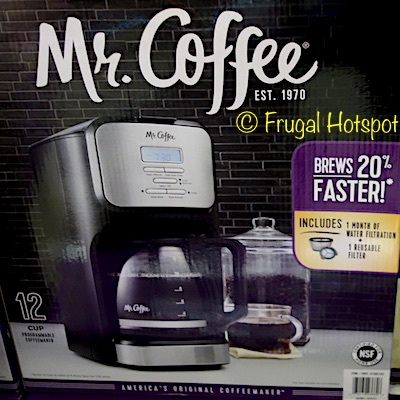 Mr. Coffee 12-Cup Coffee Maker at Costco
