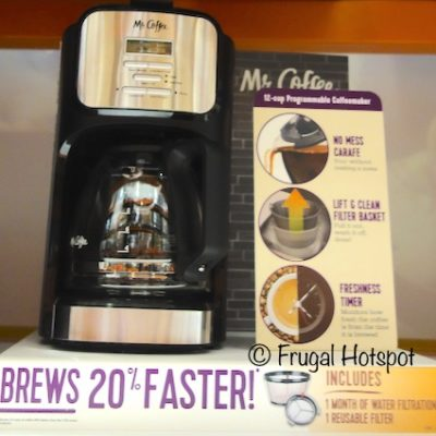 Mr. Coffee 12-Cup Coffee Maker Model BVMC-DVX41 at Costco