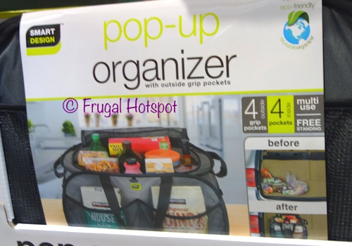 Smart Design Pop-Up Trunk Organizer at Costco