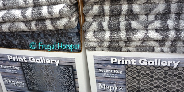 Print Gallery Accent Rug 30 inch x 45 inch at Costco