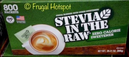 Stevia in the Raw 800-ct at Costco