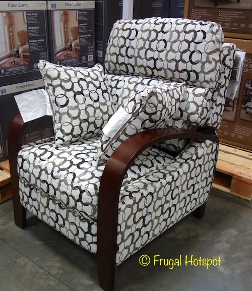 Costco Sale : Synergy Home Fabric Pushback Recliner $239.99