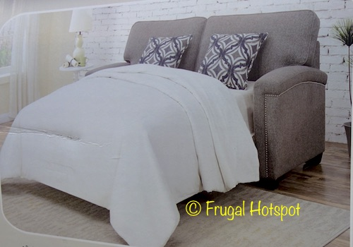 Costco Sale Synergy Home Fabric Sleeper Sofa 559 99