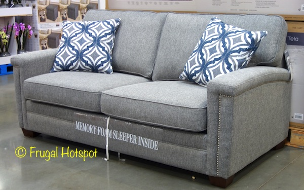 Costco Synergy Home Fabric Sleeper Sofa 59999 Frugal Hotspot