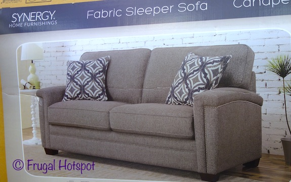 Synergy Home Fabric Sleeper Sofa at Costco