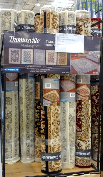"Thomasville Marketplace Timeless Rug 6'7"" x 9'6"" at Costco"