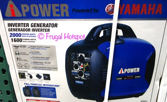 A-iPower Yamaha Powered Inverter Generator at Costco