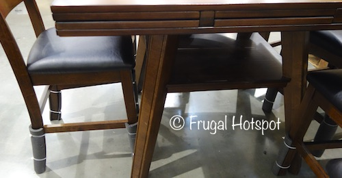 Bayside Furnishings Samuel 7-Piece Counter Height Dining Set at Costco