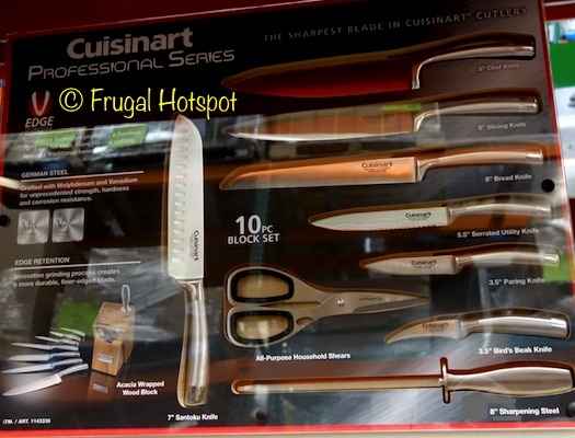 Cuisinart Professional Series 10-Piece Knife Block Set at Costco