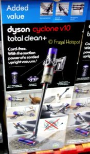 Dyson Cyclone V10 Total Clean+ Cord Free Stick Vacuum at Costco