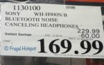 Sony h.ear on 2 Premium Noise Canceling Headphones | Costco Sale Price