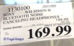 Costco Sale Price: Sony h.ear on 2 Premium Noise Canceling Headphones