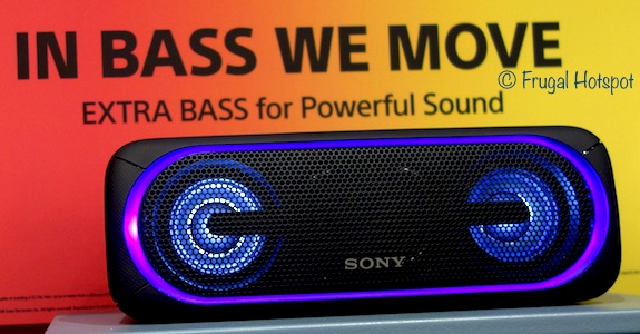 Sony SRS-XB40 Wireless Speaker with Extra Bass at Costco