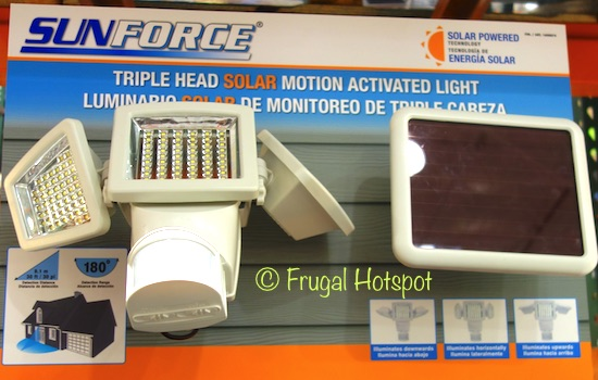 Sunforce Solar Motion Security Light at Costco
