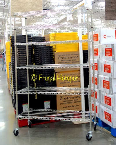 Trinity 6-Tier Wire Shelving Rack at Costco