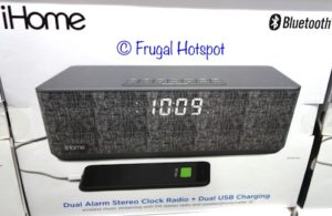 iHome Dual Alarm Stereo Clock Radio at Costco