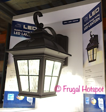 Costco Sale: Altair Lighting Outdoor Energy Saving LED Lantern $26.99