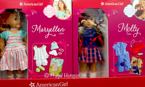 "American Girl 18"" Doll and Accessory Set at Costco"