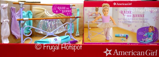 American Girl Ballet Barre and Outfit at Costco