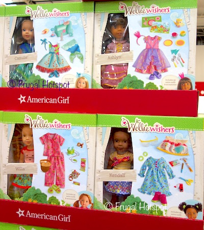 Costco: American Girl Wellie Wishers Doll + Accessories: Kendall OR Willa OR Camille OR Ashlyn