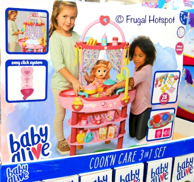Baby Alive Cook'n Care 3-in-1 Set at Costco