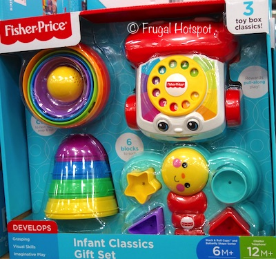 Fisher Price Infant Classic 3-Piece Gift Set at Costco