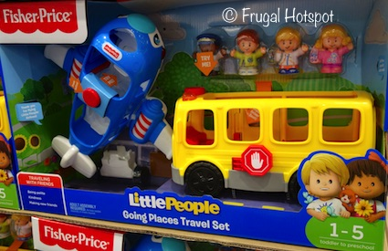 Fisher Price Little People Going Places Travel Set at Costco