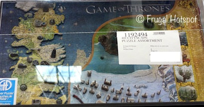Game of Thrones Westeros and Essos 4D Puzzle at Costco