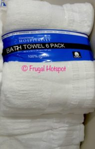 Grandeur Hospitality Bath Towel 6-Pack at Costco