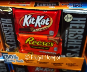 Costco: Hershey's Full-Size Candy Bars 30-count (7 Hershey's, 7 Hershey's with Almonds, 10 Reese's Peanut Butter Cups, 6 Kit Kat)