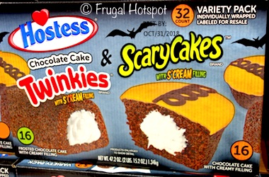 Hostess Halloween Cupcakes and Twinkies 32-count at Costco