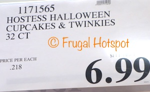 Costco Price: Hostess Halloween Cupcakes and Twinkies 32-count