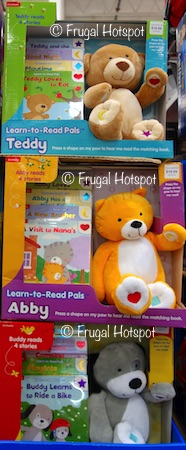 Costco: Kidsbooks Learn-To-Read Pals. Choose from Teddy the bear, Abby the cat, OR Buddy the dog.