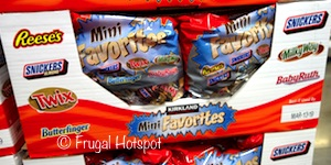 Costco Kirkland Signature Mini Favorites 80 oz (Baby Ruth, Butterfinger, Milky Way, Reese's, Snickers, Twix, Snickers Almond)