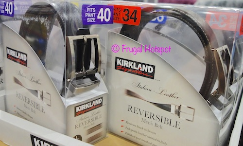 Kirkland Signature Reversible Leather Belt at Costco
