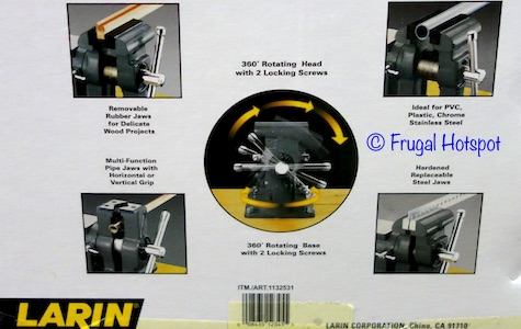 "Larin 5"" Multi-Function Vise at Costco"