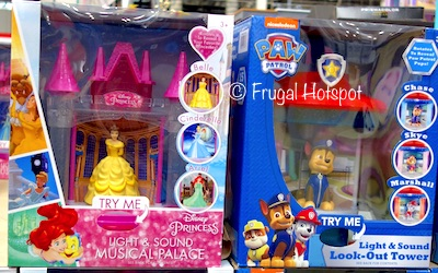 Light and Sound Musical Carousel Disney Princess OR Paw Patrol at Costco