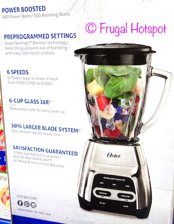 Oster Master Series Blender at Costco
