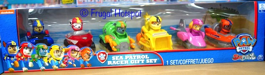 Paw Patrol Sea Patrol Racer Gift Set at Costco