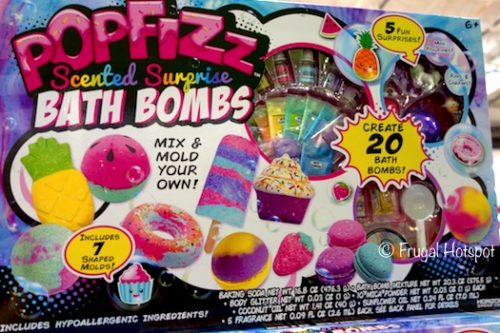 Popfizz Scented Surprise Bath Bombs Mix and mold your own bath bombs. 20-Count. at Costco