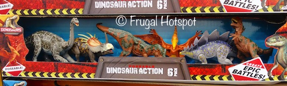 Poseable Dinosaur Action 6-Pack at Costco