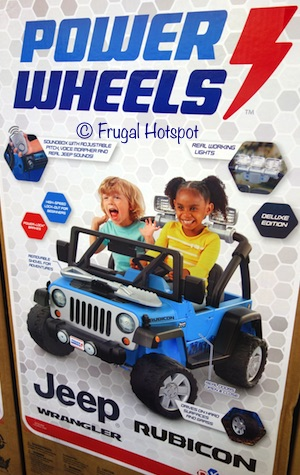Power Wheels Jeep Rubicon Wrangler 12V Ride-On at Costco