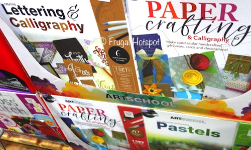 Costco: SpiceBox ArtSchool Art Kit: Lettering + Calligraphy, Paper Crafting, OR Pastels.