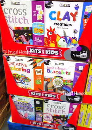 Costco: Spice Box Kits for Kids Activity Box Set: Amazing Magic Tricks OR Best Friends Bracelets OR Clay Creations OR Creative Coloring OR Cross Stitch