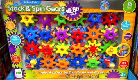Techno Kids Stack and Spin Gears Mega Set by The Learning Journey at Costco