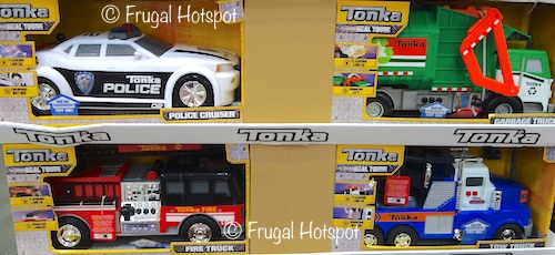 Tonka Mighty Motorized Vehicle: Police Cruiser, Garbage Truck, Fire Truck OR Tow Truck   Costco