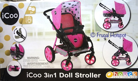 iCoo 3-in-1 Doll Stroller at Costco