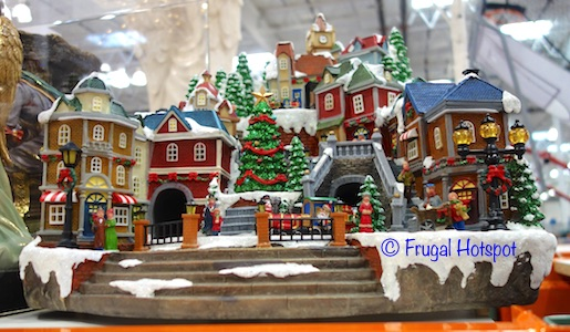 animated village with music costco christmas decorations 2018