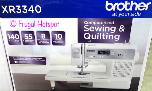 Brother Computerized Sewing and Quilting Machine XR3340 at Costco